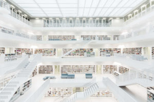 Bibliothek Stuttgart Mailänder Platz
